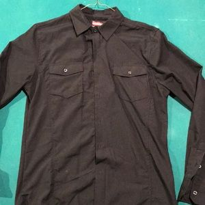No Retreat Men's Collared Shirt (Used)